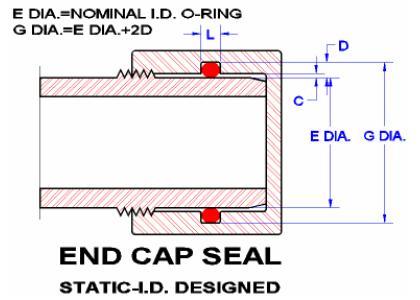 Seals Eastern End Cap O Ring Seal Design Guideline